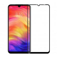 Защитное стекло 5Д на экран для Xiaomi Redmi Note 7 противоударное