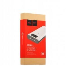 Внешний аккумулятор power bank hoco B3-20000 mAh
