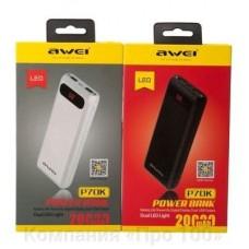 Внешний аккумулятор Awei P70K - 20000 mAh